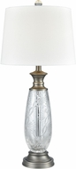Dale Tiffany SGT17163 Impressionable Antique Nickel Side Table Lamp