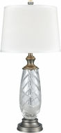 Dale Tiffany SGT17164 Lake Butler Antique Nickel Table Lamp