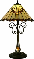 Dale Tiffany STT15094LED Jerome Tiffany Tiffany Bronze LED Lighting Table Lamp