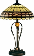 Dale Tiffany STT15103LED Bert Tiffany Tiffany Bronze LED Table Top Lamp