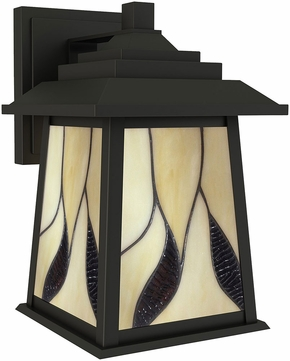 Dale Tiffany STW16134 Geologic Tiffany Oil Rubbed Bronze Outdoor Wall Lamp