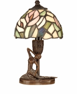 Dale Tiffany TA10607 Lady Tiffany Antique Bronze Table Light