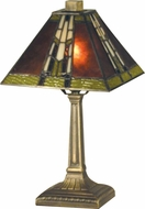 Dale Tiffany TA13064 Charwood Antique Bronze Table Light