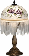 Dale Tiffany TA15001 Rose Antique Brass Accent Light