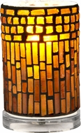 Dale Tiffany TA15017 Calico Clear Accent Side Table Lamp