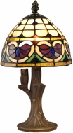 Dale Tiffany TA15049 Valentine Tiffany Antique Brass Accent Light