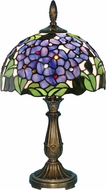 Dale Tiffany TA15054 Verbena Tiffany Antique Brass Accent Light Fixture