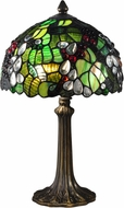 Dale Tiffany TA15055 Tioga Tiffany Antique Brass Novelty Lamp