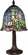Dale Tiffany TA15056 Lotus Tiffany Antique Bronze Accent Lamp