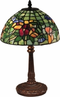 Dale Tiffany TA15152 Pansy Tiffany Antique Bronze Novelty Lamp