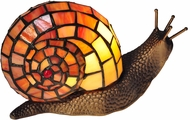 Dale Tiffany TA15173 Tiffany Snail Tiffany Antique Bronze Accent Light