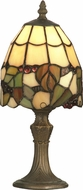 Dale Tiffany TA70709 Grape Tiffany Antique Brass Table Lamp