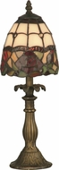 Dale Tiffany TA70711 Enid Antique Brass Table Light