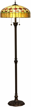 Dale Tiffany TF16086 Stewart Island Tiffany Antique Bronze Floor Light