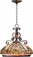 Dale Tiffany TH101034 Boehme Tiffany Antique Golden Sand Lighting Pendant