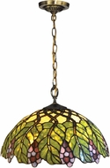 Dale Tiffany TH14247 Pinot Noir Tiffany Tiffany Bronze Hanging Pendant Light