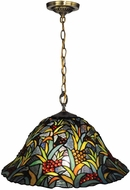 Dale Tiffany TH14248 Leia Tiffany Tiffany Bronze Pendant Hanging Light
