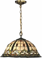 Dale Tiffany TH14249 Reservoir Tiffany Tiffany Bronze Hanging Light Fixture