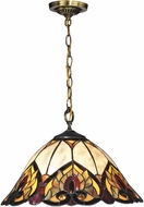 Dale Tiffany TH15022 Reservoir Tiffany Tiffany Bronze Drop Ceiling Lighting