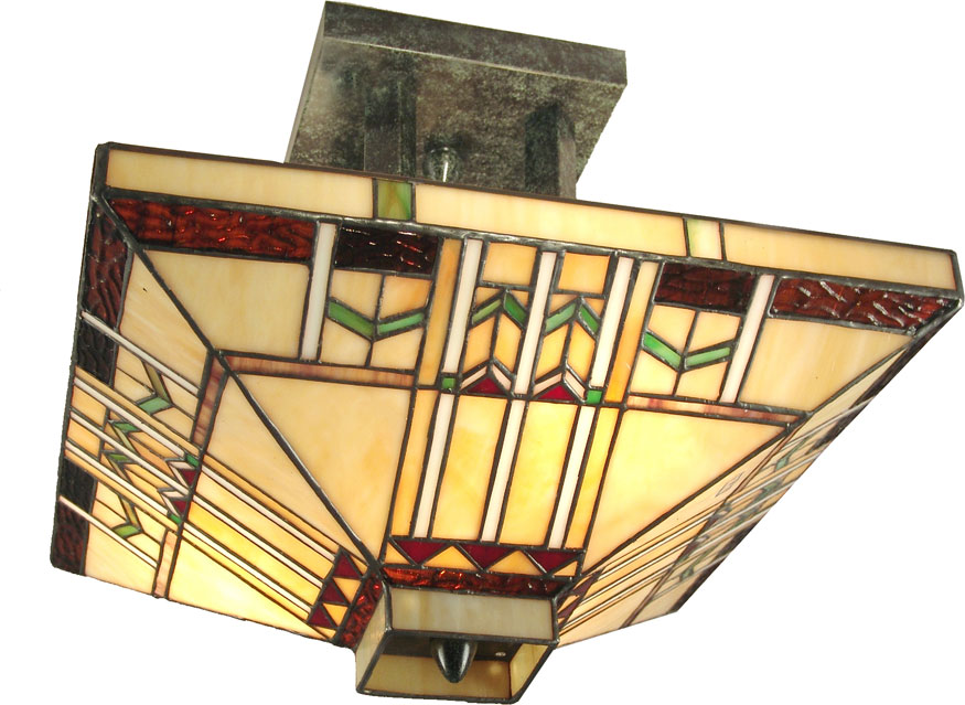 Dale Tiffany TH70332 San Carlos Tiffany Antique Bronze Ceiling Light. Loading zoom  sc 1 st  Affordable L&s & Dale Tiffany TH70332 San Carlos Tiffany Antique Bronze Ceiling ... azcodes.com