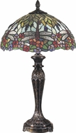 Dale Tiffany TT100588 Lydia Tiffany Fieldstone Table Top Lamp
