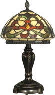 Dale Tiffany TT10065 Tiffany Fieldstone Side Table Lamp