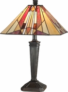 Dale Tiffany TT10823 Frediano Tiffany Mica Bronze Table Lighting