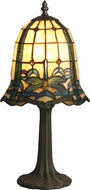 Dale Tiffany TT12231 Cabrini Tiffany Antique Brass Table Light