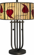 Dale Tiffany TT12325 Macintosh Tiffany Dark Bronze Table Lamp Lighting