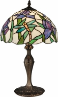 Dale Tiffany TT12338 Prosa Tiffany Antique Bronze Table Lamp