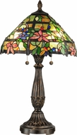 Dale Tiffany TT12364 Trellis Tiffany Fieldstone Table Light