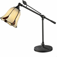 Dale Tiffany TT12432 San Antonio Tiffany Dark Bronze Task Lighting
