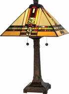 Dale Tiffany TT13061 Palo Tiffany Fieldstone Table Light
