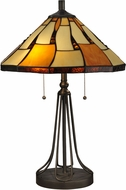 Dale Tiffany TT13194 Nero Tiffany Tiffany Dark Bronze Lighting Table Lamp