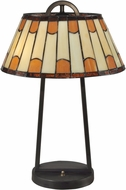 Dale Tiffany TT13195 Wedgewood Tiffany Dark Bronze Table Lamp Lighting