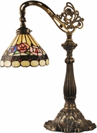 Dale Tiffany TT14161 Lea Bridge Tiffany Antique Bronze/Sand Table Lighting