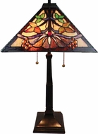 Dale Tiffany TT14252 Baja Mission Tiffany Tiffany Bronze Table Light