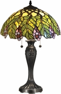 Dale Tiffany TT14294 Valencia Tiffany Tiffany Bronze Table Lamp Lighting