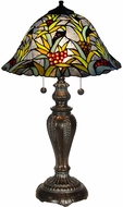 Dale Tiffany TT14295 Leia Tiffany Tiffany Bronze Table Top Lamp