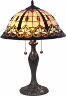 Dale Tiffany TT15389 Comanche Tiffany Antique Brass Table Lighting