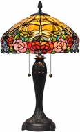 Dale Tiffany TT15391 Fletcher Tiffany Tiffany Bronze Lighting Table Lamp
