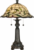 Dale Tiffany TT60574 Donavan Mica Bronze Table Top Lamp