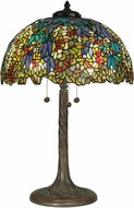Dale Tiffany TT90430 Ovation Tiffany Antique Bronze Table Lamp