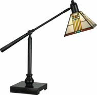 Dale Tiffany TT90492 Mission Bank Mica Bronze Study Lamp