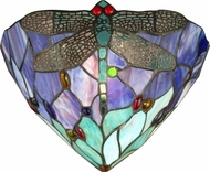 Dale Tiffany TW12062 Dragonfly Tiffany Lamp Sconce