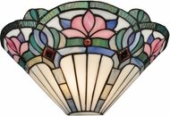 Dale Tiffany TW12148 Windham Tiffany White Wall Lighting Fixture