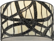 Dale Tiffany TW12423 Willow Cottage Tiffany Black Wall Light Fixture