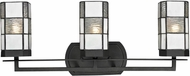 Dale Tiffany TW12470 Landis Tiffany Matte Coffee Black Bathroom Light Fixture