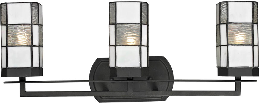 Awesome Dale Tiffany TW12470 Landis Tiffany Matte Coffee Black Bathroom Light  Fixture. Loading Zoom