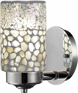 Dale Tiffany TW13018 Alps Tiffany Brushed Nickel Wall Light Sconce